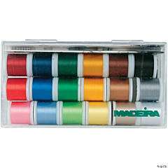 Madeira Rayon Thread Sampler 18/Pkg-