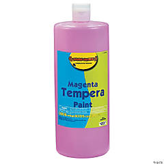 Magenta Tempera Paints