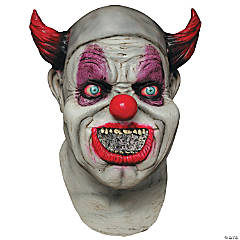 Maggot Clown Mouth Digital Mask for Adults