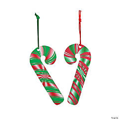 Magic Color Scratch Candy Cane Ornaments