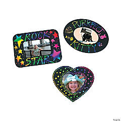 Magic Color Scratch Picture Frame Magnets