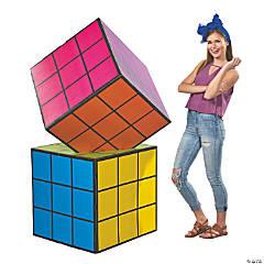 Magic Cube Cardboard Stand-Up