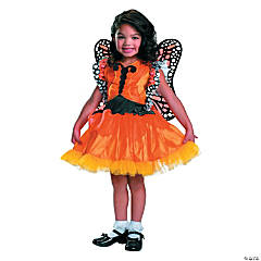 Magic Monarch Butterfly Costume for Toddler Girls