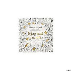 Magical Jungle Adult Coloring Book