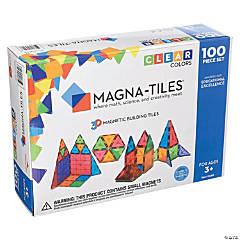 Magna-Tiles Clear Colors: 100 Piece Set