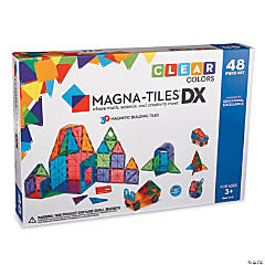Magna-Tiles Clear Colors: 48 Piece Set