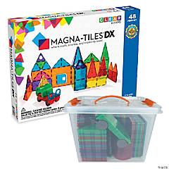 Magnatiles 48 Pc Set with FREE Storage Bin