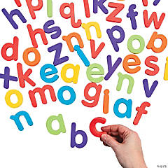Magnetic Letters - Lowercase Letter Set