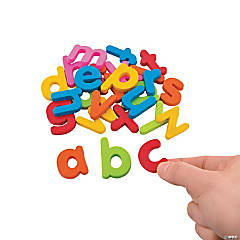 Magnetic Lower Case Letters