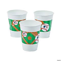 Major League Baseball<sup>&#8482;</sup> Rawlings<sup>&#174;</sup> Plastic Tumblers