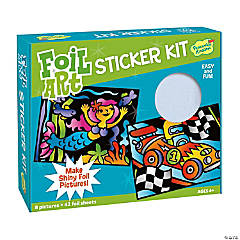 Make A Picture Sticker Kit Foil Art