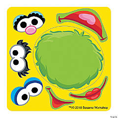 Make Your Own Sesame Street Stickers