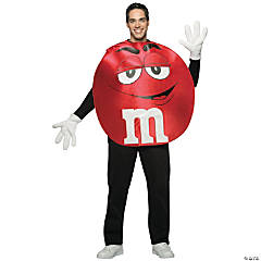M&M's® Red Poncho Adult's Costume