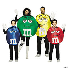 M&M's Group Costumes