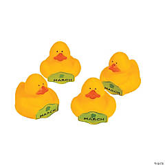 March Rubber Duckies