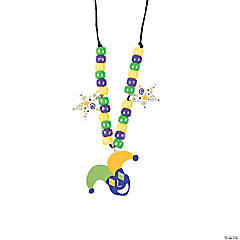 Mardi Gras Bead Necklace Craft Kit