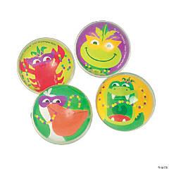 Mardi Gras Bouncing Balls