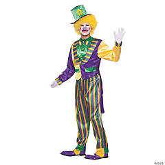 Mardi Gras Clown Costume for Women