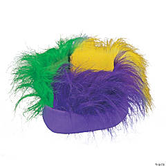 Mardi Gras Crazy Hair Headband