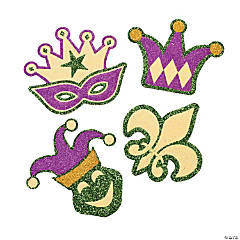Mardi Gras Glitter Art Craft Kit