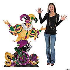 Mardi Gras Jester Stand-Up