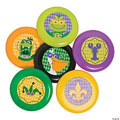Mardi Gras Mini Flying Discs