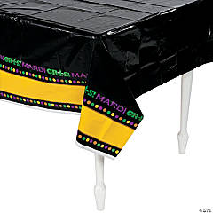 Mardi Gras Party Tablecloth
