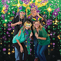 Mardi Gras Photo Booth Idea