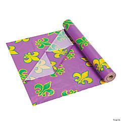 Mardi Gras Plastic Tablecloth Roll