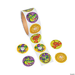 Mardi Gras Stickers