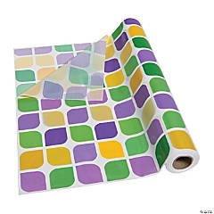 Mardi Gras Tablecloth Roll