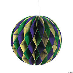 Mardi Gras Tissue Balls