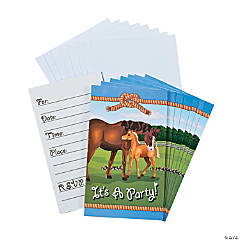 Mare & Foal Invitations