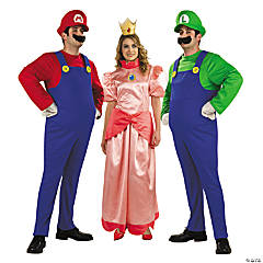 Mario Brothers Group Costumes