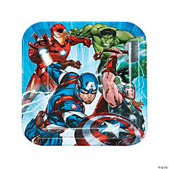 Marvel Avengers™ Square Paper Dinner Plates