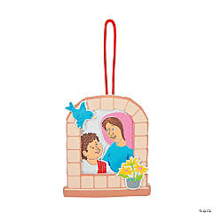 Mary & Young Jesus Ornament Craft Kit