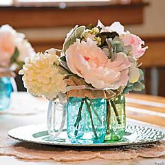 Mason Jar Flower Centerpiece Idea