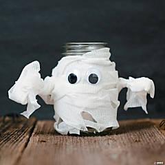 Mason Jar Mummy Idea