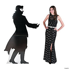 Masquerade Ball Monsieur Silhouette Stand-Up