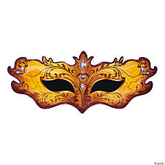 Masquerade Mask Cardboard Stand-Up