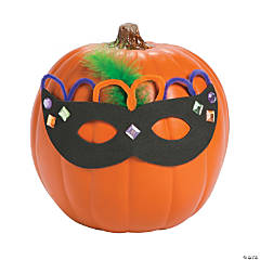 Masquerade Pumpkin Decorating Craft Kit