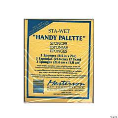 Masterson Sta-Wet Handy Palette Sponges 3 pk.