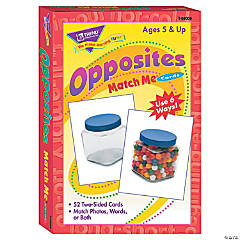Match Me® Cards, Opposites - 52 cards per pack, 6 packs