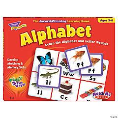 Match Me® Games, Alphabet - Set of 2 games