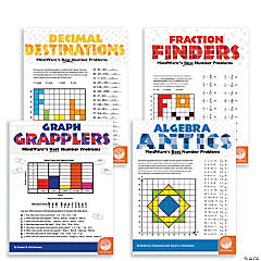 Math Adventures Beyond the Basics: Set of 4