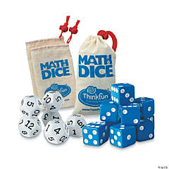Math Dice: Set of 3