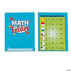 Math Folders