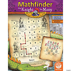 Mathfinder: One Knight Too Many (advanced addition/subtraction)