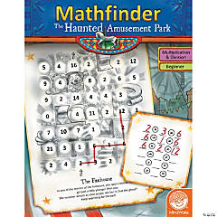 Mathfinder: The Haunted Amusement Park (easy multiplication/division)