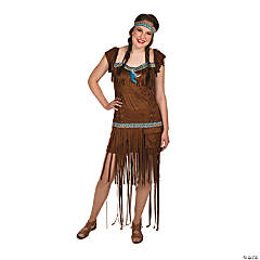 Medicine Woman Medium/Large Adult Women's Native American Costume